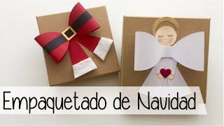 Cómo decorar tus regalos de Navidad - Christmas giftwrapping