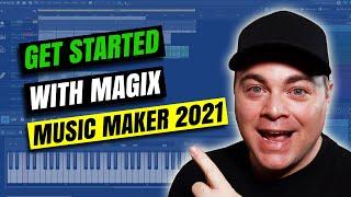 Magix Music Maker 2021 Tutorial For Beginners