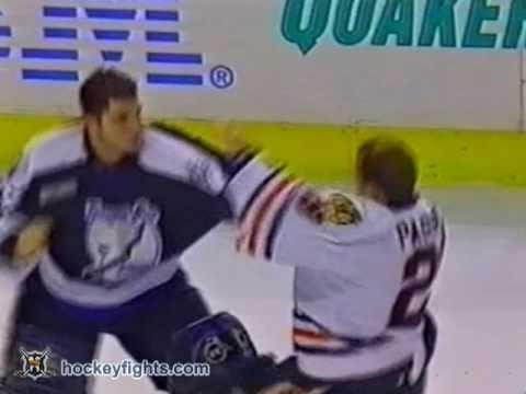 Dan Cloutier vs Steve Passmore