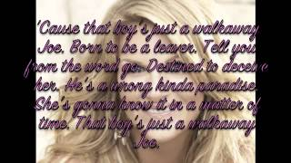 Walkaway Joe by Trisha Yearwood Lyrics