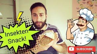 Snack Insects Teil 2! Mehlwürmer, Buffalowürmer und Co! Insektenmüsli + Dschungelade!