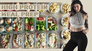 MEAL PREP WITH ME: Fast & Healthy High Protein Meals and Snacks