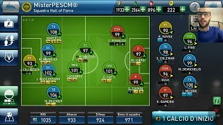 MATCH WITH MY HALL OF FAME TEAM! PES CLUB MANAGER