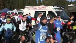 preview picture of video 'Giro del lago di Bracciano 2013 - Trevignano Romano 10/2/2013'