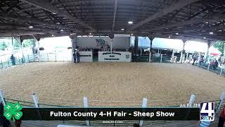 Fulton County 4-H Fair - Sheep Show - 7-8-19