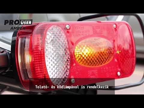 Pro-User Amber III 91731 kerékpártartó vonóhorogra
