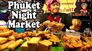 Phuket Night Market: Street Food & Shopping at Chillva Night Market in Phuket Town Thailand