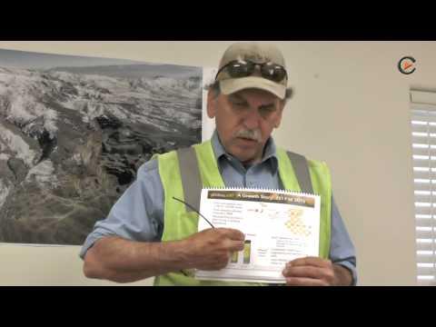 Zu Besuch bei Pershing Gold in Nevada.