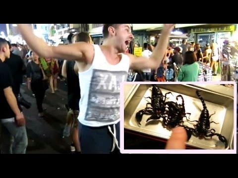 Škorpioni k jídlu!! | MAZEC V THAJSKU (ČESKY!!)