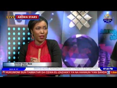 ahmed x ray interviewed ummi zeezee on arewa stars