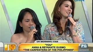 Unang Hirit: UH Morning Star: Anna and Reynante Gusmo 'The Carpenters of the Philippines'