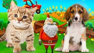 Bé tập nói tiếng anh qua con vật, Hình ảnh và tiếng kêu con vật cho bé, nhạc thiếu nhi cho bé