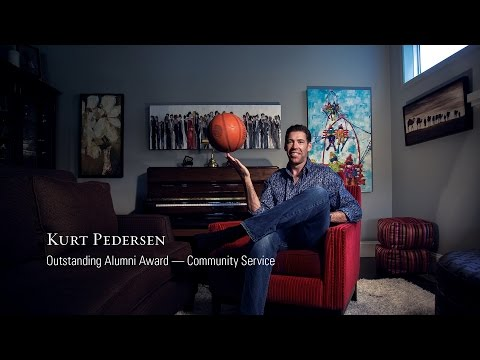 Kurt Pedersen — Outstanding Alumni Award — Community Service