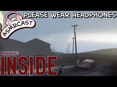 ASMR Gaming: Playdead's Inside #1 Escape (A Binaural Let's Play)