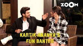 Kartik Aaryan makes fun of Ananya Panday's nose, has fun banter with PPAW cast and more