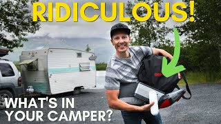 8 RIDICULOUS Things You Wont Believe We Bring Camping!