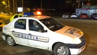 Șofer UBER Ridicat De Polițiștii Ieșeni