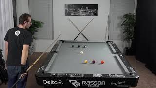 Billiards Drill #10: Zig & Zag