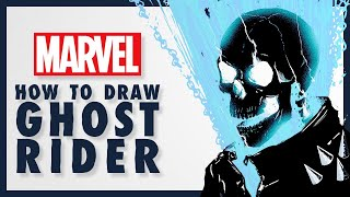 How to Draw GHOST RIDER w/ Doaly!