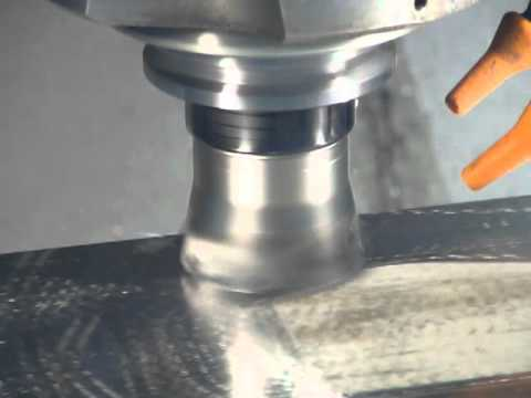 DAPRA - Milling 316L Stainless with Mid-Feed Shell Mill