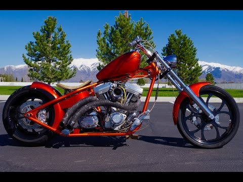FOR SALE 2002 Big Dog Pitbull Custom Rigid Chopper Motorcycle Harley Davidson $8,888!