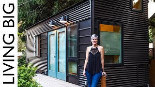 Modern Architecturally Designed Tiny House With Amazing Hidden Shower