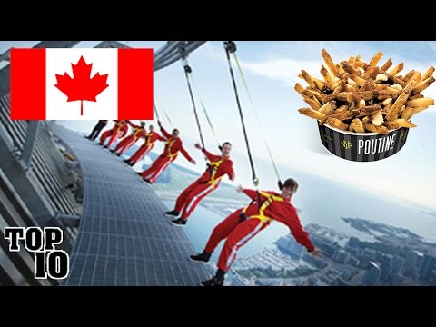 Video TOP 10 THINGS TO DO IN CANADA