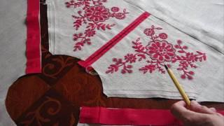 Стилизованная русская женская рубаха