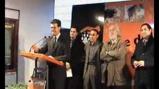 preview picture of video 'Parlament de l´ Ilustre alcalde de Riudoms'