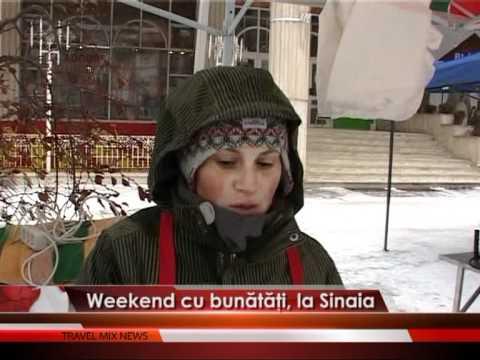 Weekend cu bunătăţi, la Sinaia