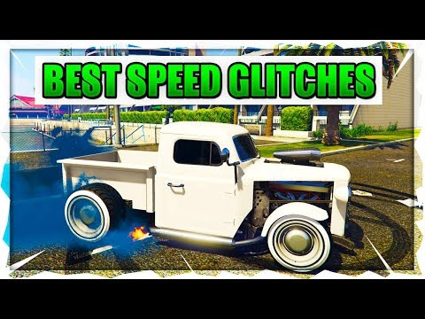GTA 5 Online - BEST Speed Glitches - How To Have The FASTEST Car And Bike In Gta 5 Online!!!