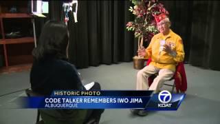 Code Talker recalls terrifying Iwo Jima battle  1939-1945