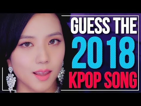 GUESS 2018 KPOP SONGS IN 1 SECOND !! 🤯🤯 | KPOP Challenge | Difficulty: Easy