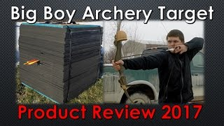 QUIT BUYING ARCHERY TARGETS EVERY SEASON | Best Archery Target | Big Boy Archery Target