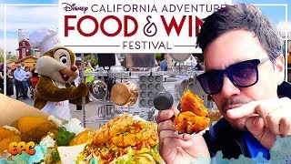 Disney California Adventure Food & Wine Festival 2019! Food Review!