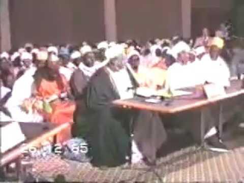 Sheikh Al-Islam Ibrahim Inyass In A Maulid Nabi
