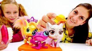 Салон Красоты для животных Литл Пет Шоп - Видео для девочек.