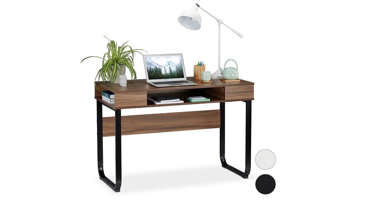 Video von: Schreibtisch mit 3 Ablagefächern