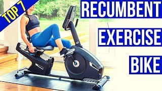 Top 7 Best Recumbent Bike for Seniors Reviews    Best Recumbent Exercise Bike 2021 for Home Use