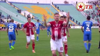 Осемте гола на ЦСКА във Вечното дерби за сезон 2016-17.