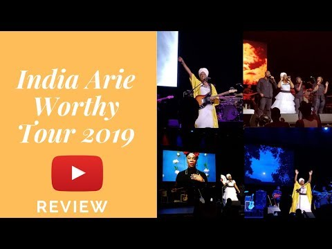India Arie Worthy Tour 2019 REVIEW