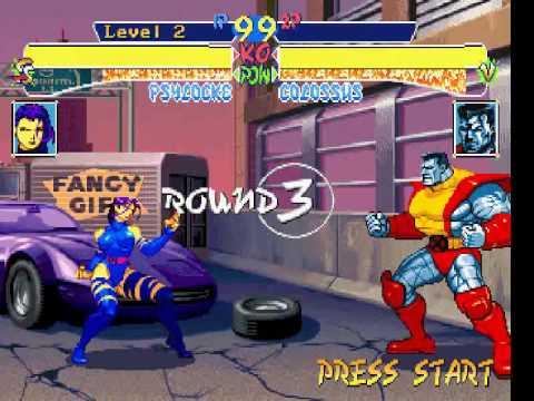X-Men Children Of The Atom Playstation