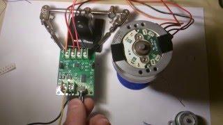 Banggood - DC Brushless Motor Controller - VCR Motor test