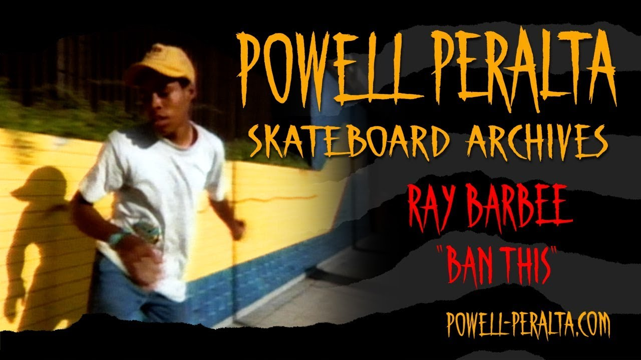 "Ray Barbee ""BAN THIS"""