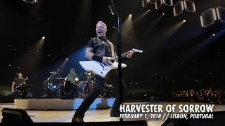 Металлика (Metallica) - Harvester of Sorrow (Lisbon, Portugal — February 1, 2018)