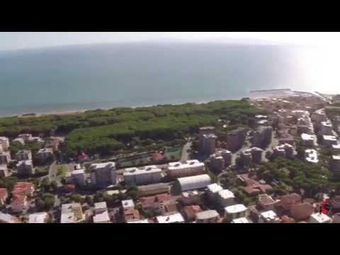 Preview video Vista di Follonica dall'alto