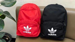 Adidas Originals Adicolor Classic Backpacks   unpacking/unboxing