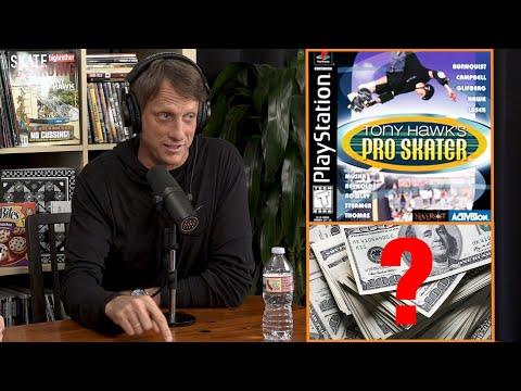 How Much Money Did Tony Hawk Make From Tony Hawk's Pro Skater??