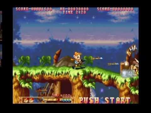 Capcom Classics Collection Vol. 2 (PlayStation 2) Sample/All Games