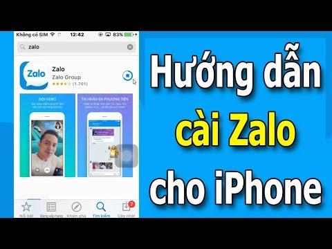 Hướng dẫn tải và cài đặt Zalo cho iPhone mới nhất